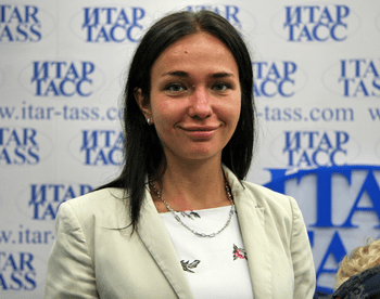Марина Куренкова. Фото предоставлено пресс-службой Оргкомитета Национального рекорда «Жемчужины России 2012»