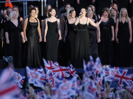 Концерт звезд  в честь бриллиантового юбилея  прошёл в Букингемском дворце. Фоторепортаж. Фото: Dan Kitwood/Getty Images