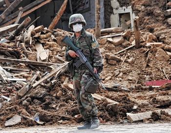 В Чили произошли  два новых мощных землетрясения. Фото: Martin BERNETTI/AFP/Getty Images