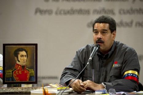 За Николаса Мадуро собирается проголосовать большая часть избирателей. Фото: JUAN BARRETO/AFP/Getty Images
