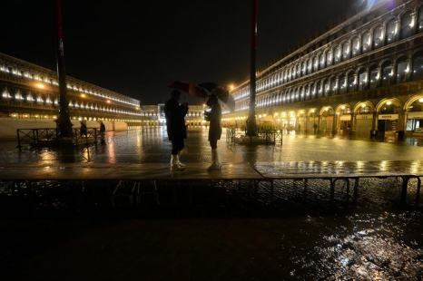 Венеция ушла под воду почти на 60 процентов. Фото: OLIVIER MORIN/AFP/GettyImages