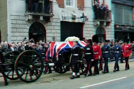 В Лондоне прошли похороны Маргарет Тэтчер. Фото: Shaun Botterill/Getty Images