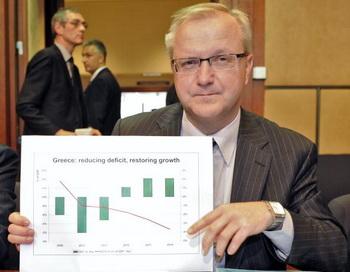 Еврокомиссар по экономике и финансам Олли Рен. JEAN-CHRISTOPHE VERHAEGEN/AFP/Getty Images