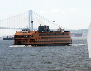 Паром компании Staten Island Ferry. Фото: DON EMMERT/AFP/Getty Images