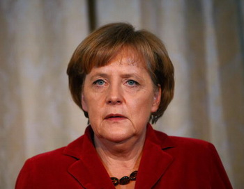 Канцлер Германии Ангела Меркель. Фото: Carsten Koall/Getty Images