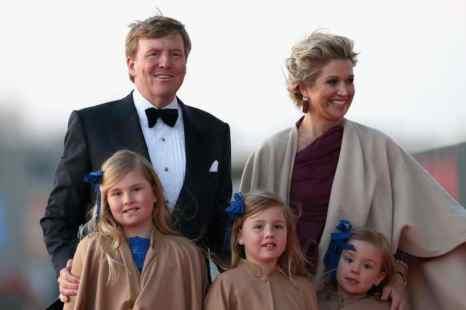 Король Нидерландов Виллем-Александр и его семья. Фото: Chris Jackson/Getty Images