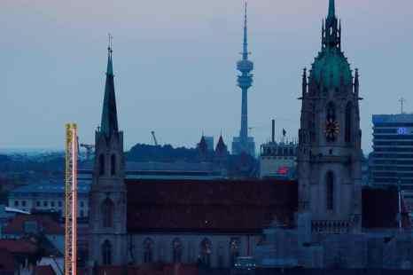 С 15 по 17 мая 2013 года в германских городах Мюнхен, Нюрнберг и Ингольштадт (ФРГ) пройдет серия конгрессных мероприятий «Дни Москвы в Баварии». Бавария. Мюнхен. Фото: Johannes Simon/Getty Images
