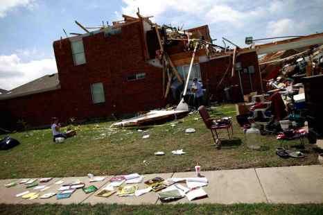 Техас. Торнадо. Фото: Tom Pennington/Getty Images