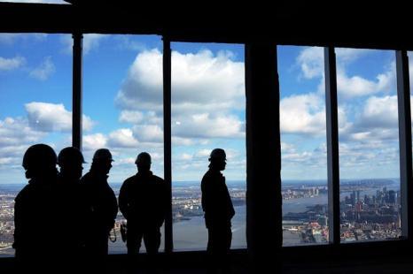 Строящийся в Нью-Йорке небоскрёб откроет смотровую площадку на 100 этаже. Фото: Spencer Platt / Getty Images