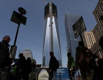 Башня свободы. Фото: Spencer Platt/Getty Images
