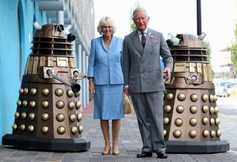 Принц Чарльз и Камилла прибыли в студию BBC в Кардиффе 3 июля 2013 года. Фото: Chris Jackson/Getty Images