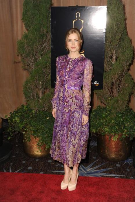 Эми Адамс на 85th Academy Awards Nominations Luncheon 4 февраля 2013 года в Лос-Анджелесе. Фото: Kevin Winter/Getty Images