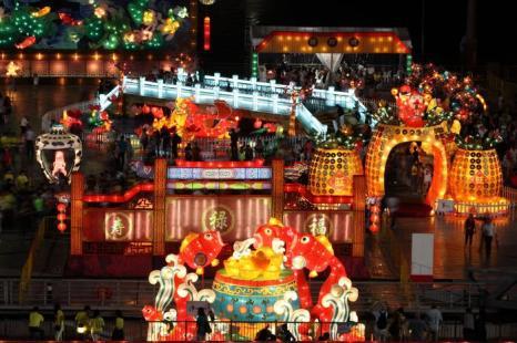 Китайский Новый год в Сингапуре. Фото: Suhaimi Abdullah/Getty Images