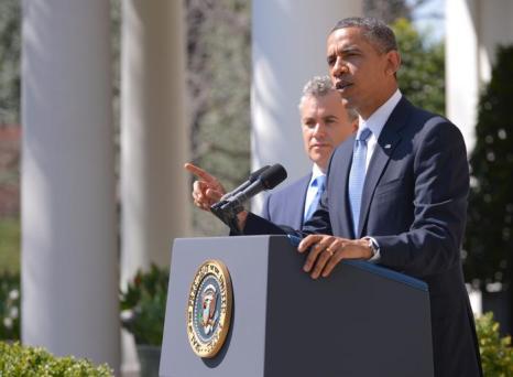 Президент США представил проект бюджета на 2014 год. Фото: Win McNamee / Getty Images