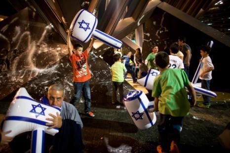 В Израиле отметили 65 День Независимости. Фото: Uriel Sinai/Getty Images