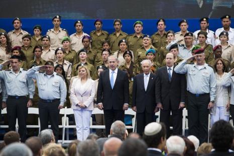 В Израиле отметили 65 День Независимости. Фото: Ilia Yefimovich-Pool/Getty Images