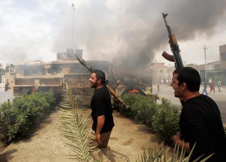 С начала военной операции в Ираке прошло 10 лет. Фото: Wathiq Khuzaie /Getty Images