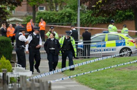 Убийство военнослужащего в Лондоне власти назвали терактом. Фото: LEON NEAL/AFP/Getty Images