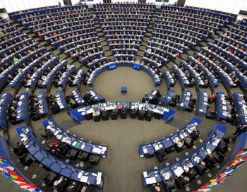 Сессия Eвропарламента. Фото:  FREDERICK FLORIN/AFP/GettyImages