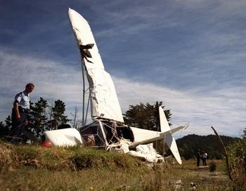Крушение легкомоторного самолёта. Фото: Ross Land/Getty Images
