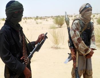 Исламисты группы «Ансар ад-Дин». Фото: AHMED OUOBA/AFP/Getty Images