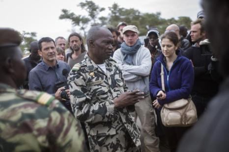 Город Тимбукту освобождён французско-малийскими войсками от боевиков. Фото: FRED DUFOUR / AFP / Getty Images