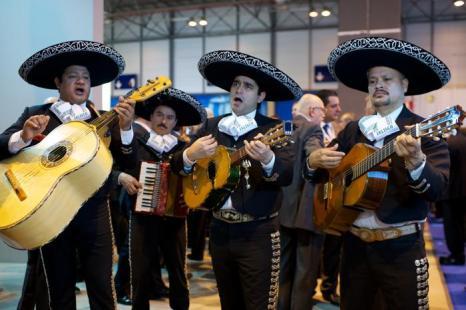 Мексиканский стенд на международной выставке туризма FITUR, Испания, 30 января 2013 года. Фото: Carlos Alvarez / Getty Images