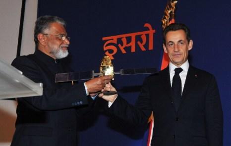 Николя Саркози просит у Индии поддержки в G20, 4 декабря, Бангалор, Индия. Фото: Pascal Le Segretain/Getty Images