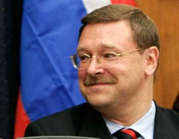 Константин Косачев осторожно оценивает продвижение переговоров по СНВ. Фото: Alex Wong/Getty Images
