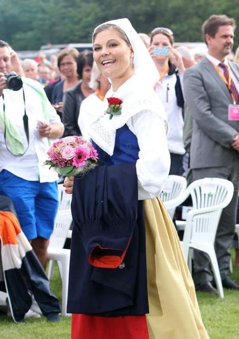 Фоторепортаж о праздновании 35-летия шведской принцессы Виктории в Боргхольме. Фото: Danny Martindale/Getty Images