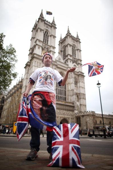 До свадьбы принца Уильяма и Кейт Миддлтон осталось меньше трех дней. Фото: Matthew Lloyd, Oli Scarff/Getty Images