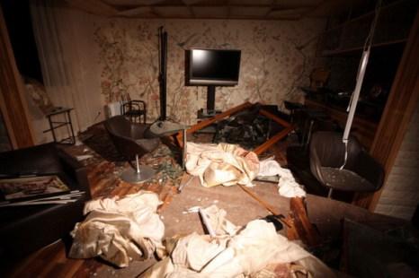 В результате авиаудара ВВС НАТО погиб младший сын Каддафи Саиф аль-Араб. Фото: MAHMUD TURKIA/AFP/Getty Images