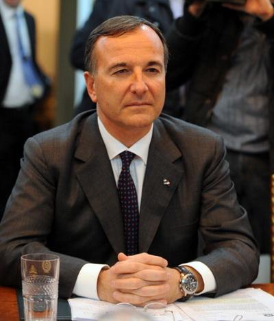 Фоторепортаж. Министр иностранных дел Италии Франко Фраттини. Фото: Getty Images
