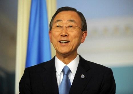 Фоторепортаж. Генеральный секретарь ООН Пан Ги Мун. Фото: Getty Images