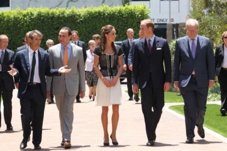 Фоторепортаж о посещении принцем Уильямом и леди Кэтрин ярмарки вакансий в Калифорнии. Фото: Mario Anzuoni - Pool/Getty Images