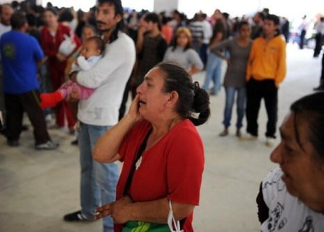 Фоторепортаж с погребальной церемонии жертв землетрясения в Испании. Фото: Jasper Juinen/Getty Images