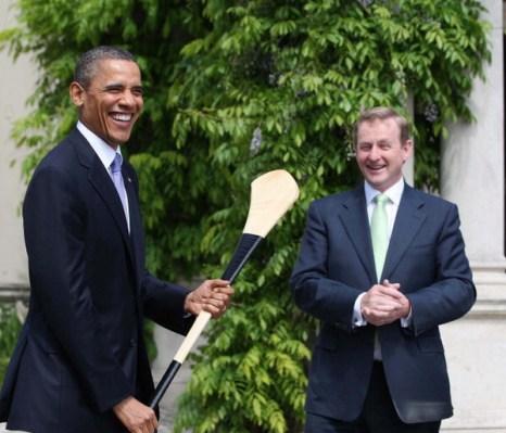 Фоторепортаж о визите президента США Барака Обамы в Ирландию. Фото: Irish Government - Pool/Getty Images