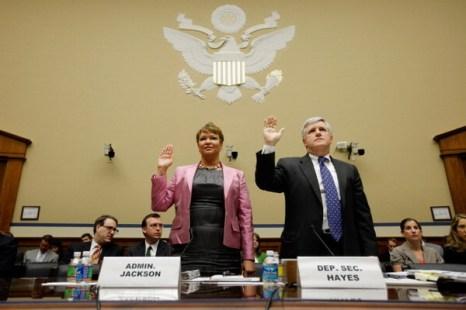 Фоторепортаж о собрании в Вашингтоне по вопросам нефтегазонакопления. Фото: Chip Somodevilla/Getty Images