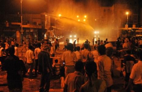 Фоторепортаж с места беспорядков между протестующими и полицией в Йемене. Фото: AFP PHOTO/MOHAMMED HUWAIS