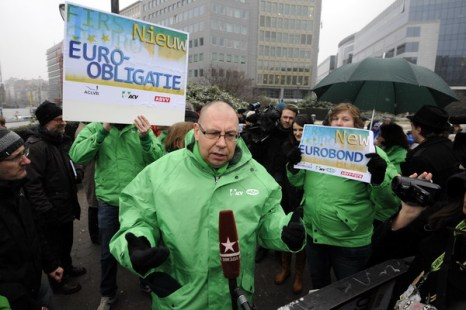 Брюссель проводит самую крупную забастовку последних 20 лет. Фото: ERIC LALMAND/AFP/Getty Images