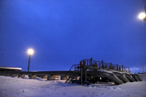 Холод в Европе влияет на газовые поставки. Фото:  SERGEI SUPINSKY/AFP/Getty Images