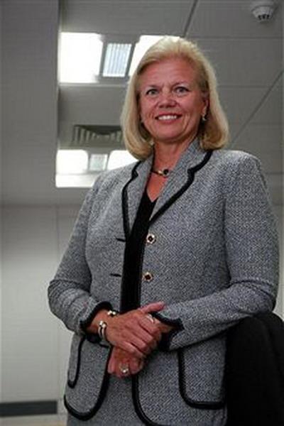 7. Джинни Рометти – старший исполнительный директор и исполнительный директор группы по продаже, маркетингу и развитию компании IBM.Фото: Getty Images