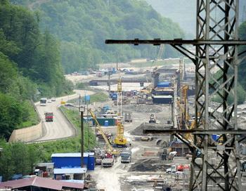 Строительство железной дороги в России. Фото: FRANCK FIFE/AFP/Getty Images