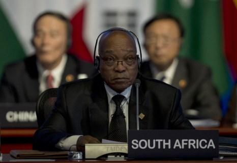 Президент ЮАР Якоб Зума на встрече G20 в Лос-Кабосе, Мексика. Фото:  YURI CORTEZ/AFP/GettyImages