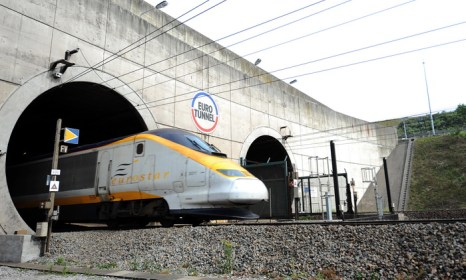 В тоннеле под Ламаншем слишком высокие цены на перевозки. Фото: DENIS CHARLET/AFP/Getty Images