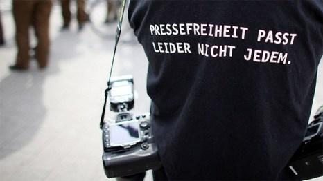 3 мая всемирный день свободы прессы. «Свобода прессы, к сожалению, подходит не каждому». Фото: heute.de