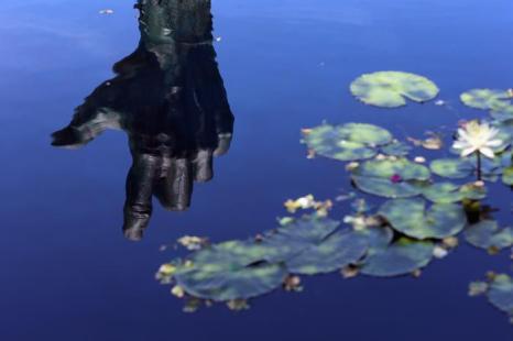 День памяти жертв Холохоста провели в Майями-Бич. Фото: Joe Raedle / Getty Images
