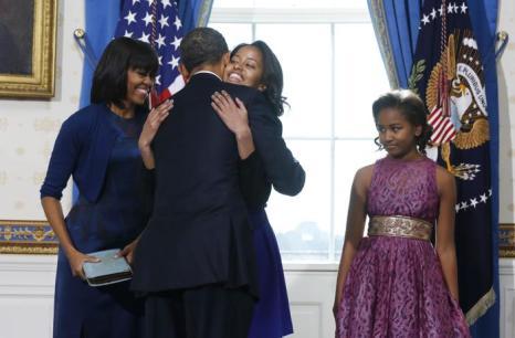 Церемония принятия присяги президентом США Бараком Обамы 20 января 2013 года, Вашингтон. Фото: Michael Reynolds-Pool/Getty Images
