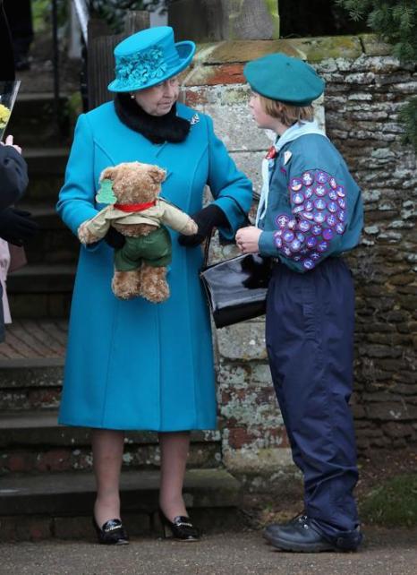 Королевская семья Англии в Сандрингене, Англия, 25 декабря 2012 года. Фото: Chris Jackson / Getty Images
