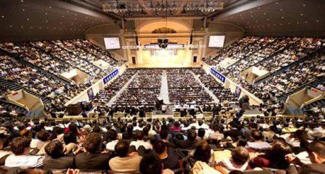 В зале конференции,16 июля Вашингтон, округ Колумбия. Фото: Dai Bing/The Epoch Times